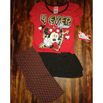 Conjunto De Minnie Mouse Original Disney