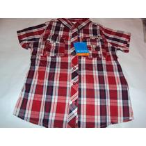 Camisa Dama Columbia En Rojo + Negro+ Blanco Talla Xl
