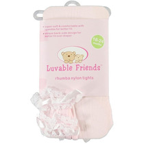 Luvable Friends Medias Panty Rufle Trasero Para Vestidos