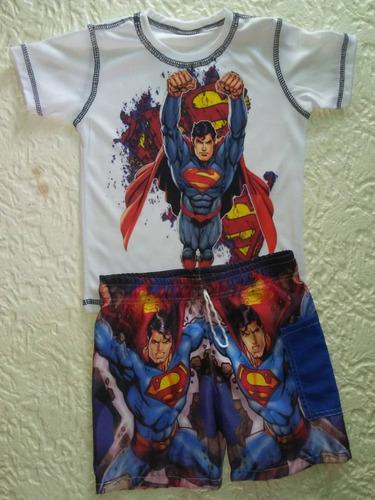 conjuntos niños super héroes