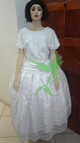 conjuntos  renda roupas de santo/orixás umbanda/candomblé