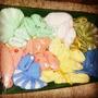 Conjuntos De Bebés Tejidos A Mano En Lana. Baby Shower