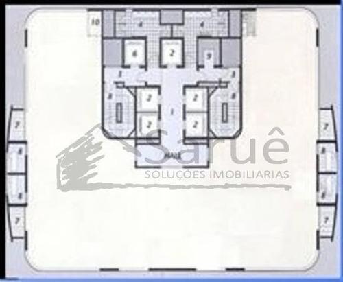 conjuntos - salas para locação - brooklin - ref: 115896 - 115896
