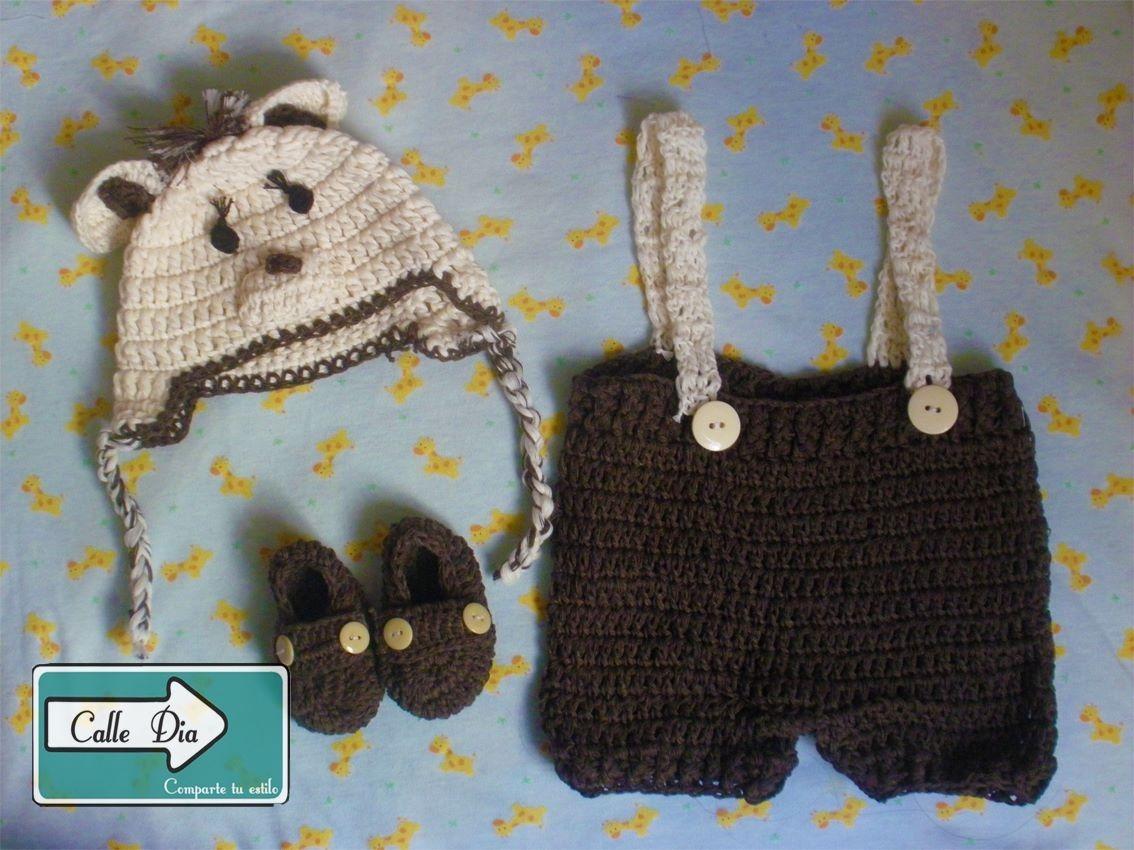 Conjuntos Tejidos Crochet Para Bebes Y Niños De Animalitos