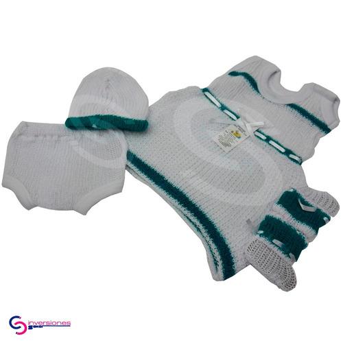 conjuntos tejidos para bebe recién nacidos vestidos niña set