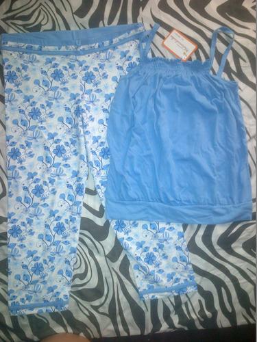 conjuntos tipo pijama y de diario casuales