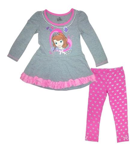 conjuntos y vestidos disney para niñas. sofia y dra juguete