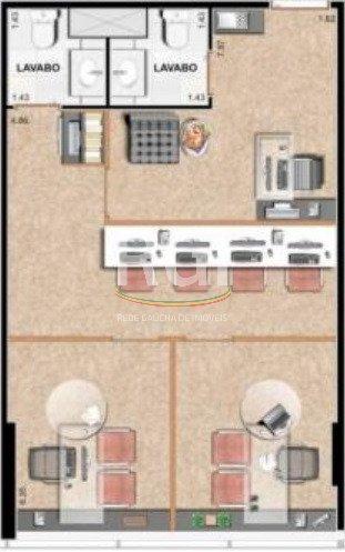 conjunto/sala em cristal - ev2291