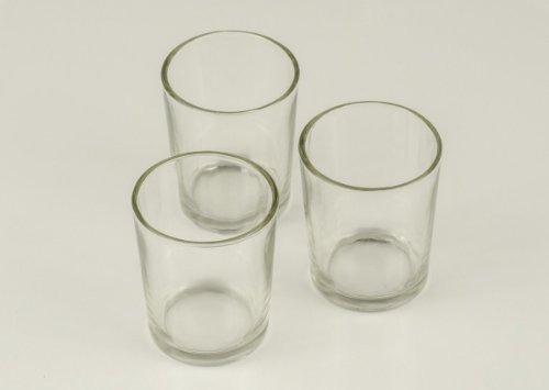 conjuntos,candles4less - 72 piezas votive glass holders...