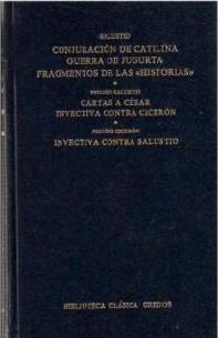 conjuración de catilina. guerra de jugurta(libro otras liter