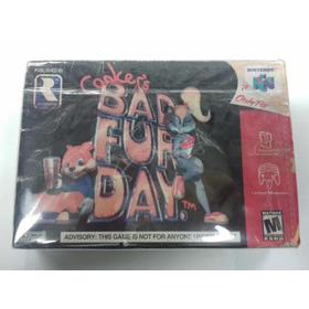 Conker Bar Fur Day N64