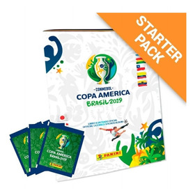 Conmebol Copa América 2019: Álbum Capa Cartão + 20 Envelopes