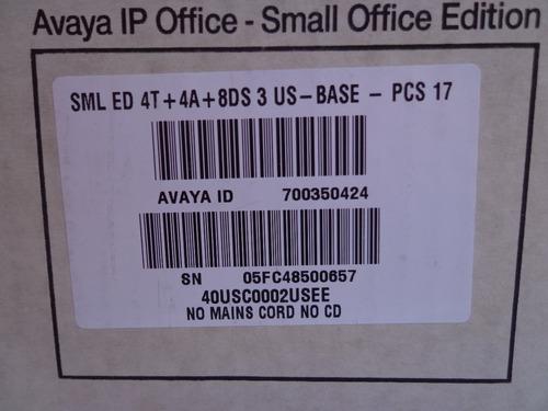 conmutador avaya nuevo ip office