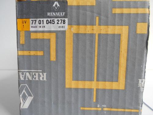 conmutador columna de direccion bocina renault original clio