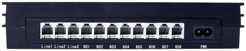 conmutador de 3 líneas y 8 extensiones pbx-100-steren