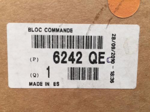 conmutador de luces peugeot 207 / hoggar 6242qe