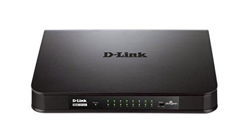 conmutador gigabit d-link 16 puertos (dgs-1016a)