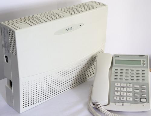 conmutador nec ip2ap-924m  (6 lineas 16 extensiones)