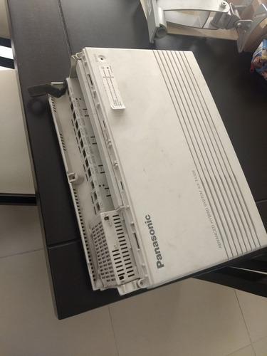conmutador panasonic kx-ta308 3 líneas 8 ext y puerta