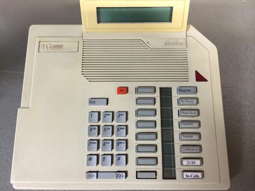 conmutador y 16 telefonos meridian opc ii