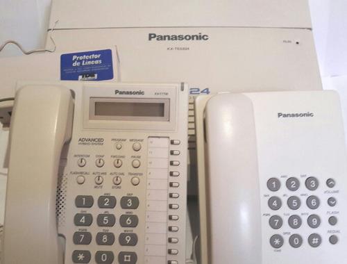 conmutador y teléfonos panasonic