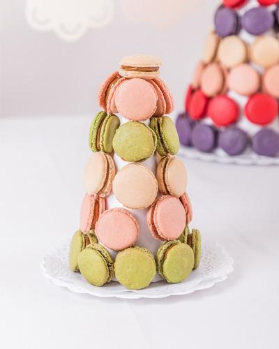 cono de macarons (30 unidades)