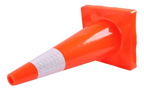 cono de seguridad con reflejante mikels 70 cm seguridad vial