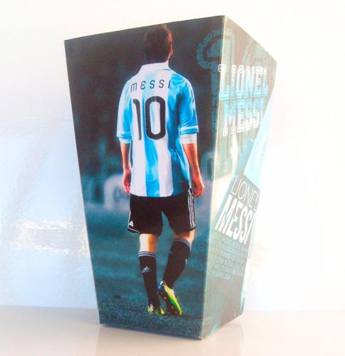 cono para pochoclos y golosinas messi argentina pack x100
