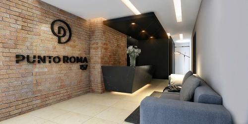 conoce increible proyecto. depto. 3 rec., 2 est., roma nte.