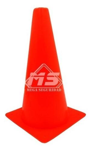 conos de seguridad vial 32cm neon deportivo señalamiento