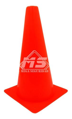 conos de seguridad vial 41cm naranja deportivo señalamiento