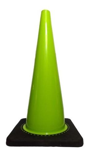 conos de seguridad vial 71cm sin reflejante señalamiento pvc