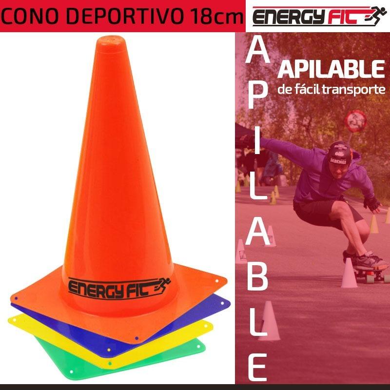 76b96c62e08a5 conos futbol kit x12 alt 18cm agilidad deporte entrenamiento. Cargando zoom.