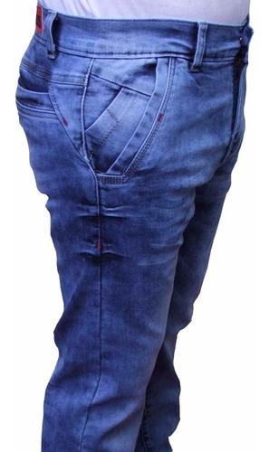 conox- jeans premium evolución  slim fit - azul