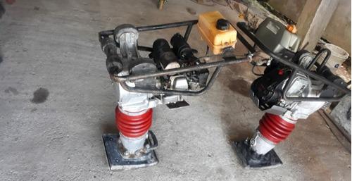 conpaquitador de solo dinaparq motor honda zx120 máquina con