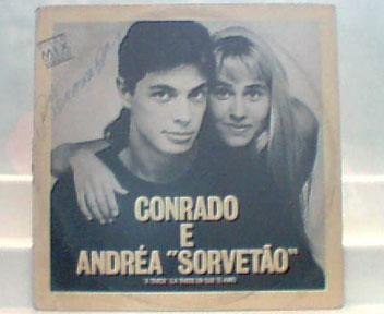 conrado e andréa sorvetão - lp single polydor 1990