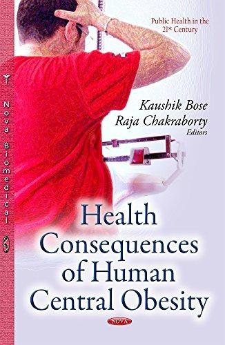 consecuencias para la salud de la obesidad central humana