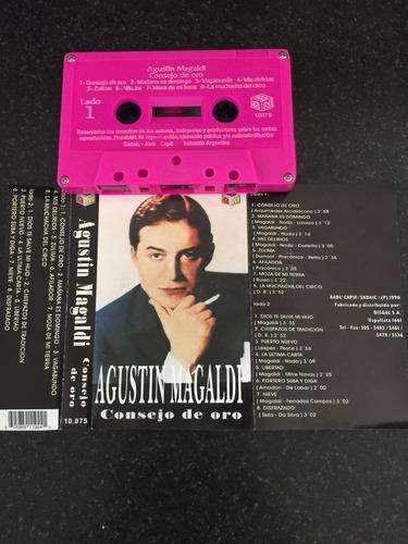 consejo de oro - agustín magaldi (cassette)