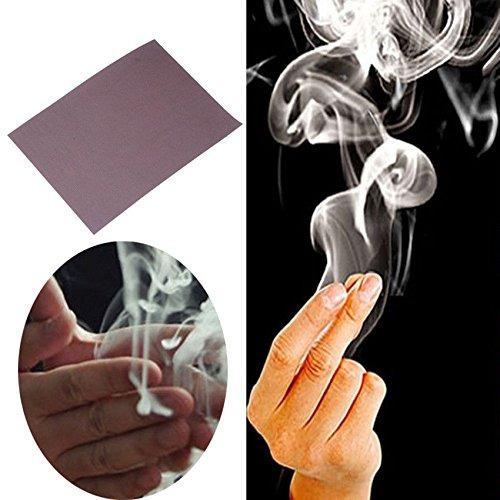 consejos de hot magia de cerca truco prop finger humo apoyo