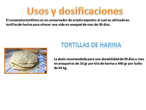 conserplus tortillero 5 kg conservador para 45 dias