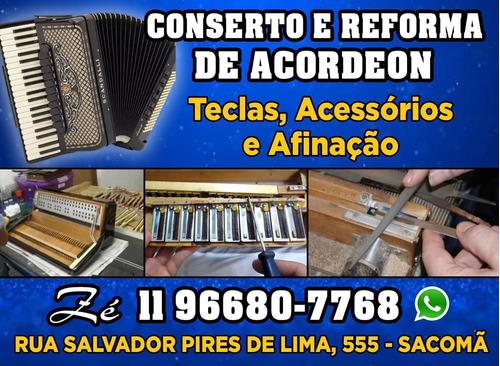 conserto, afinação, reforma e eletrificação de acordeon ou s