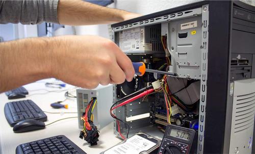 conserto de computadores e televisões