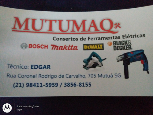 conserto de ferramentas eletricas,bosch, makita, dewalt