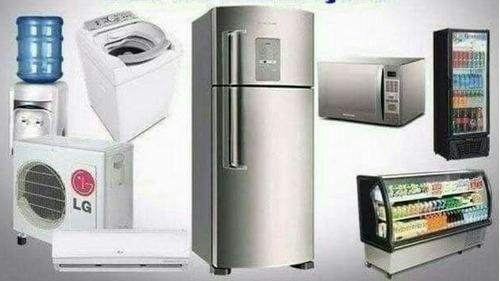 conserto de geladeira, de maquina de lavar electrodomésticos