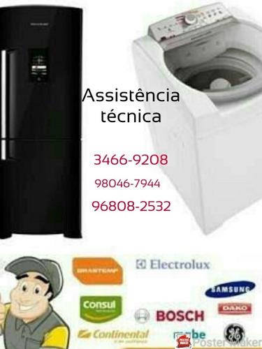 conserto de máquina de lavar, geladeira e ar condicionado