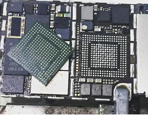 conserto de placa logica iphone 8/p 7/p 6s/6 reparo em placa