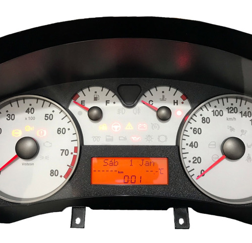 conserto display lcd painel de instrumentos fiat stilo