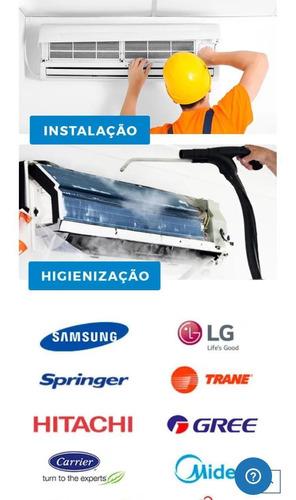 conserto e instalação de ar condicionado split