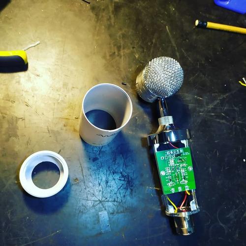 conserto e modificação de microfones profissionais