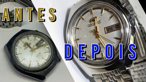 conserto e restaurações de relógios novos e antigos